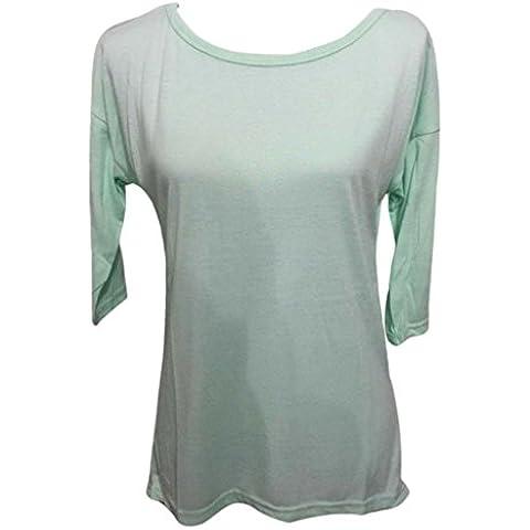 Fortan Las mujeres jersey suelto Camiseta