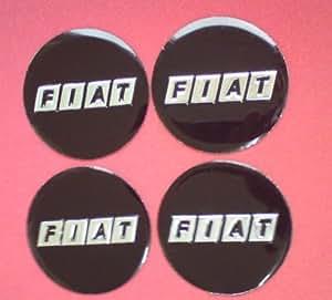 4 x 60mm fiat aufkleber emblem felgenaufkleber logo 4 x. Black Bedroom Furniture Sets. Home Design Ideas