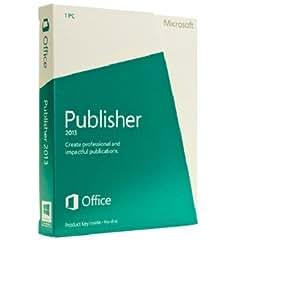 Office Publisher 2013 (carte d'activation)