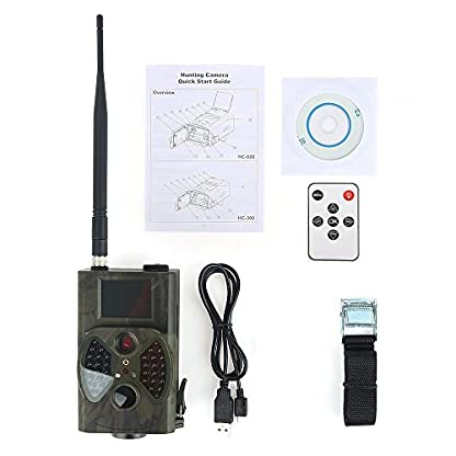 12MP 1080P HD Game & Trail Hunting Camera No Glow Infrared Scouting Camera Night Vision up to 75ft with 940nm IR LEDs and Waterproof IP54