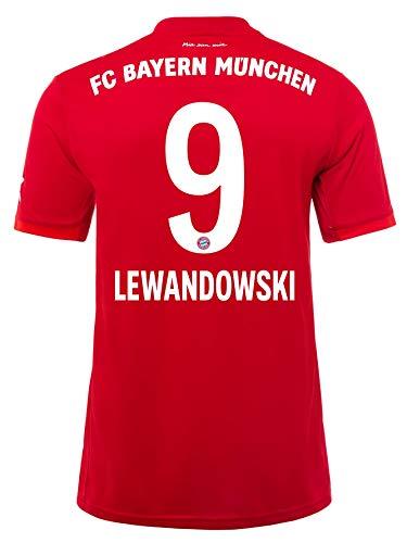 FC Bayern München Trikot Home 2019/20, Robert Lewandowski, Größe XL