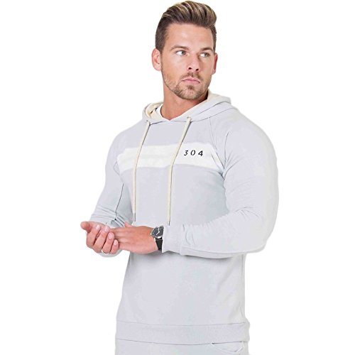 304 Clothing -  Tuta da ginnastica  - Uomo Jackson Grey