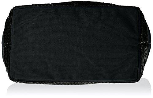 Cabas medium coton et paillettes noir(999 Noir)