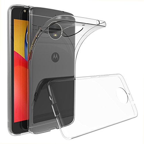 GeeRic Für Motorola Moto E4 Plus Hülle, Transparent Silikon Schutzhülle für Moto E4 Plus TPU Case Durchsichtige Crystal Clear Bumper Cover Lenovo Moto E4 Plus Handyhülle