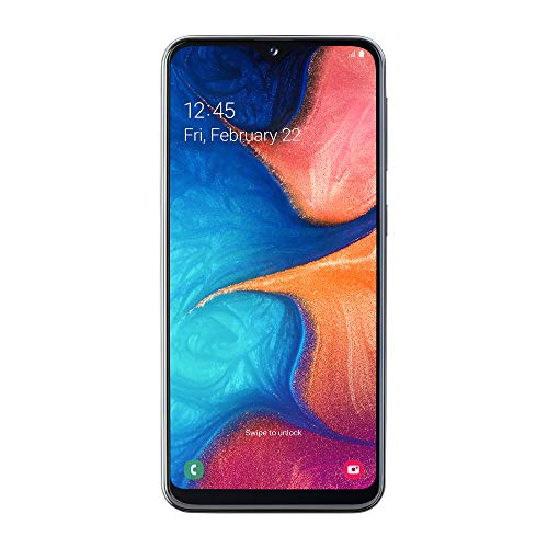 Samsung Galaxy A20e (2019) Smartphone, Black, Display 5.8' HD+, 32 GB Espandibili, Dual Sim [Versione Italiana]