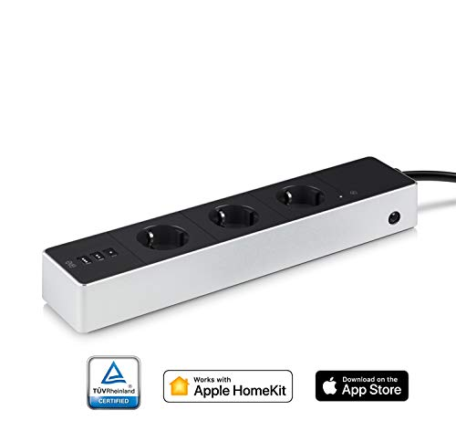 Eve Energy Strip - Presa tripla intelligente e misuratore di energia con tecnologia Apple HomeKit