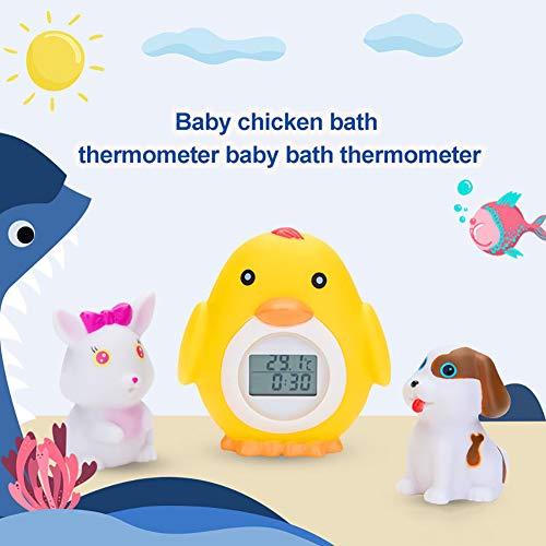 XQxiqi689sy Wasserthermometer, digital, für Babypartys, mit Cartoon-Motiv Einheitsgröße einfarbig -