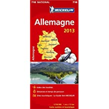 Carte NATIONALE Allemagne 2013 n°718