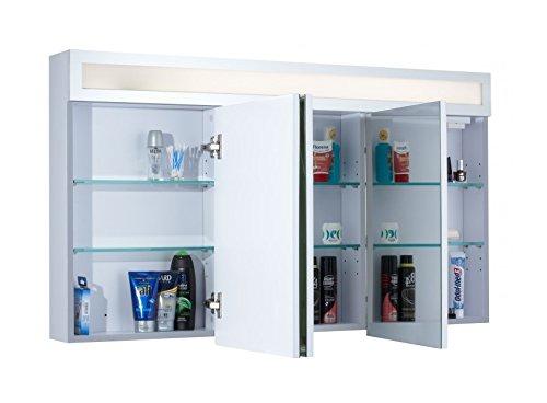 Badschrank mit Spiegel – 120 cm - 2