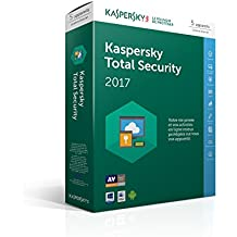 Kaspersky Total Security 2017 | 5 postes | 1 an | PC/Mac/Android/iOS | Téléchargement