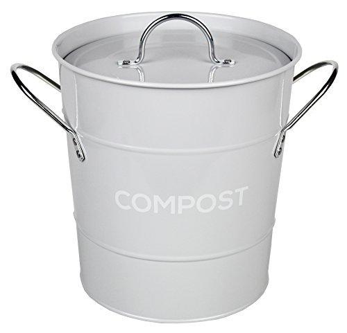 Eddingtons Kompost Eimer hellgrau