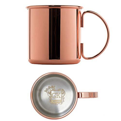 Premium Cobre Taza / Vaso para Moscow Mule / Gin Mule / Gin Tonic - También ideal como regalo!