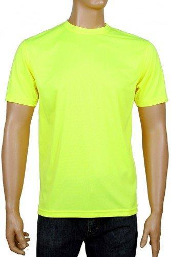 (Coole-Fun-T-Shirts Laufshirt Neon Floureszierend, neongelb, XL, FT96_neongelb_GR.XL)