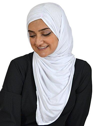 Hijab-ista - Fichu - Femme Blanc - Blanc