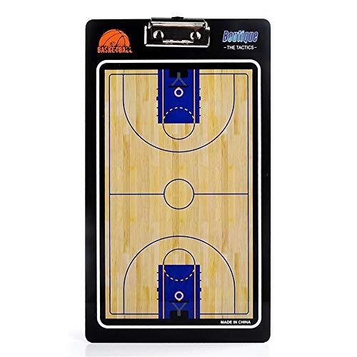 Outdoor Sport Zubehör Farbige PVC-Trainer Marker Board Coach Basketball Trainingsanleitung Coaching 2 Seiten Premium Dry Erase Tool mit Erase Zipper (Farbe : One Color, Größe : 35 * 20cm)