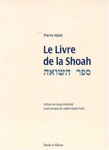 Le livre de la Shoah