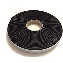 25 mm von 10 mm Dicke von 10 M lange Rolle Advanced Acoustics formbest/ändigen Dichtungsband