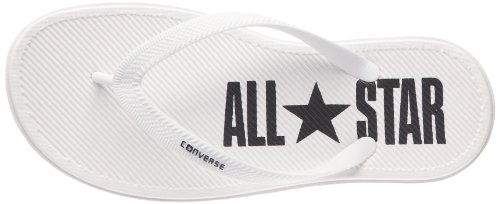 Converse Sandstar Thong, Tongs mixte adulte Blanc/noir
