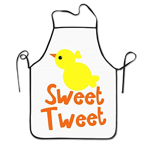 Laohujia Easter Sweet Tweet Little Chick Cool Funny Kitchen BBQ Cook Chef Apron