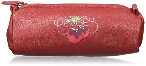 Le Temps des Cerises Deny 5, Trousse de Maquillage - Rouge (Cerise Af21), Taille Unique