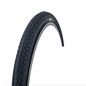 Fincci Slick Road Mountain Hybrid Bike Bicycle Tyre 26 x 1.95 54-559 and Schrader Inner Tube