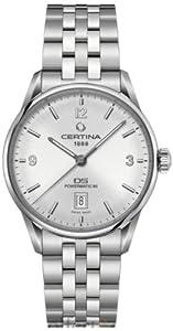 Certina C026.407.11.037.00 - Reloj para hombres, correa de acero inoxidable multicolor de Certina
