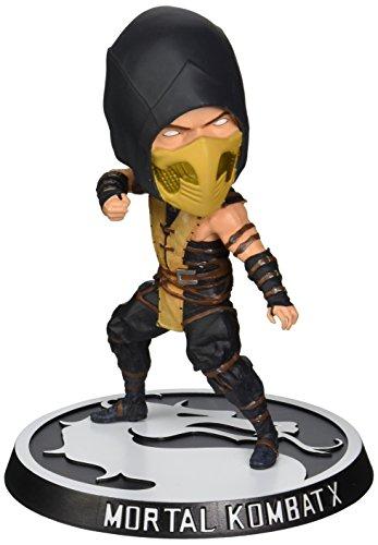 Mortal Kombat X Bobblehead Escorpión Figura (Negro / marrón / amaril