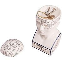 Mind Keeper - Caja de almacenamiento con diseño de frenología para guardar llaves, monedas