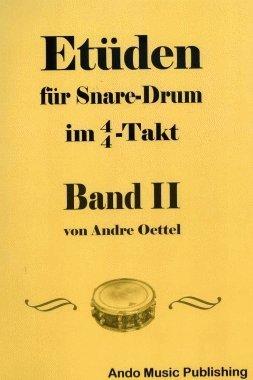 Etüden für Snare Drum im 4/4-Takt Band 2