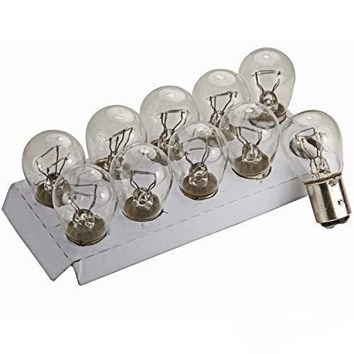 Preisvergleich Produktbild Unbekannt 10 Stück BAY15D Lampe 21 Watt 5 Watt 24V LKW Glühbirne OVP P21 / 5W