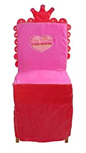 Knorr 68991 My Little Princess - Cubierta para una Silla, Color Rojo y Rosa
