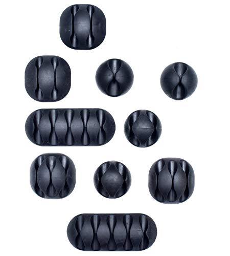 Set 10 Piezas Clips Adheribles| Sistema Práctico
