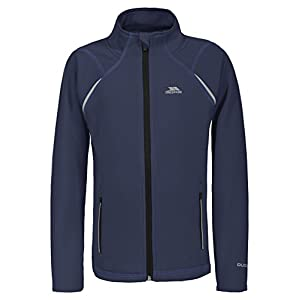 Trespass Harbird, Navy, 11/12, Quick Dry Warm Jacket Kids Unisex, Age 11-12, Blue