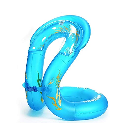 Tragbar Kindererwachsener Aufblasbarer Schwimmring, Baby Verdickter Dauerhafter Sich Hin- Und Herbewegender Annulus for Die Anfänger, Die Ausrüstung Schwimmen (Size : X-Large) -
