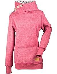 Ghope Femme Sweats ¨¤ Capuche Pull Hoodie Hauts Veste Sweatshirt Pullover Tops Jumper Hiver