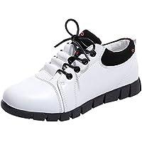 BaZhaHei Scarpe in Pelle Lace-Up Donna Sneakers Eleganti fa0a1233095
