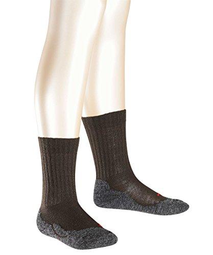 Preisvergleich Produktbild FALKE Jungen Socken Active Warm, Einfarbig, Gr. 31 (Herstellergröße: 31-34), Braun (Brown 5930)