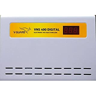 V Guard VNS 400 Digial Voltage Stabilizer  Grey