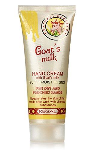 Regal Goat's Milk, Crema Mani idratante con Latte di capra.
