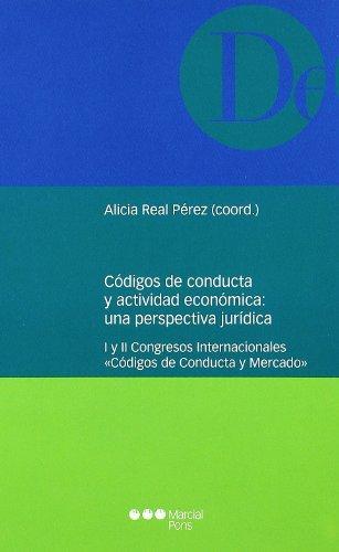 Códigos de conducta y actividad económica: una perspectiva jurídica