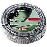 Cuerda galvanizado persianas metálicas madeja X Ø 2,4 mm Longitud de 9 metros