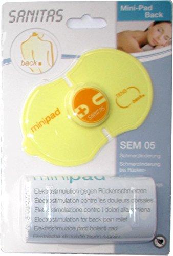 SANITAS SEM 05 Mini-Pad gegen Rückenschmerzen / Mini-Elektrostimulationspad