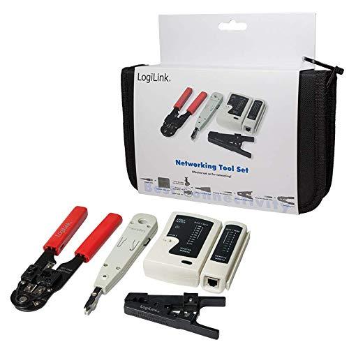 LogiLink Netzwerk Werkzeug Set mit Tasche - 6