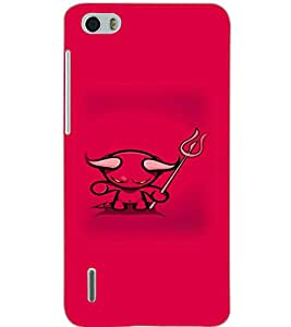 HUAWEI HONOR 6 DEVIL Back Cover by PRINTSWAG