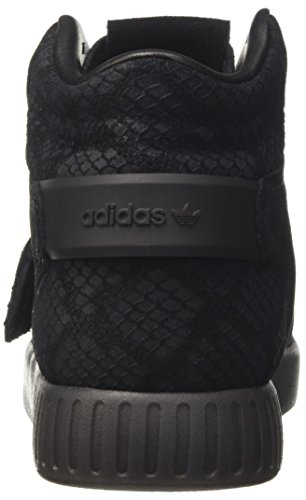 Femmes Baskets Adidas Originals Tubular Invader Strap Black