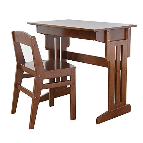 Tische MEIDUO Kinder Schreibtisch und Stuhl Set, zum Malen, geräumige ausziehbare Schublade,...