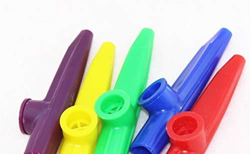 5 Stücke Party Geschenk Musikinstrument Kunststoff Kazoo Mundharmonika Mund Flöte Für Kinder Langlebig und Praktisch