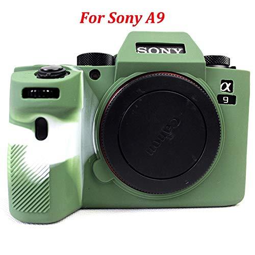 KHKJ Soft Silicone Rubber Camera Protective Cover Case Bag for Sony A7 Mark II III A7III A7M3 A7R3 A7II A7M2 A7R2 A7S2 A7RII A7SII A9 Camera Soft Camera Case