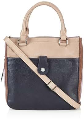 Marc O´Polo Accessories Sienna Shopper 11685 69185 401 Damen Shopper 27x28x10 cm (B x H x T), Blau (marine 69185)