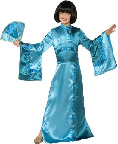 Generique Geisha Kinderkostüm für Mädchen 146 (8-10 -